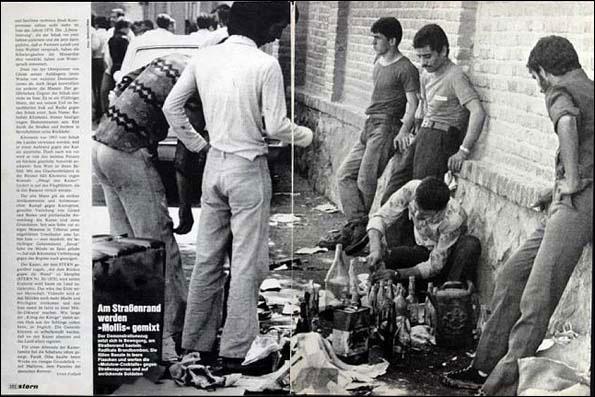 تهران سال 57- کوکتل مولوتف